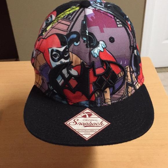 new style 0d008 71de5 Batman SnapBack Cap DC Comics